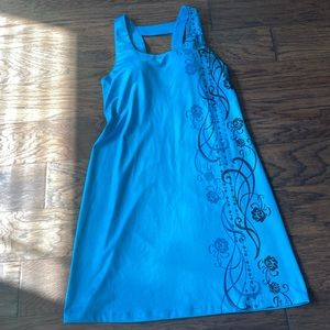 Medium Teal/Blue Athleta Summer Dress